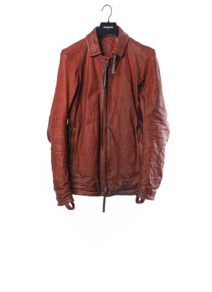 BORIS BIDJAN SABERI BBS J2 Jacket exclusively limited horse leather FMM20020 Herren Jacke black hide m 2
