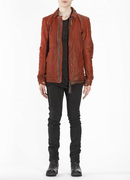 BORIS BIDJAN SABERI BBS J2 Jacket exclusively limited horse leather FMM20020 Herren Jacke black hide m 3