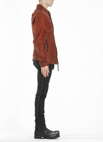 BORIS BIDJAN SABERI BBS J2 Jacket exclusively limited horse leather FMM20020 Herren Jacke black hide m 5