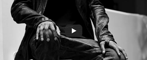 Boris Bidjan Saberi J2 black horse leather jacket exclusively for hide m Video
