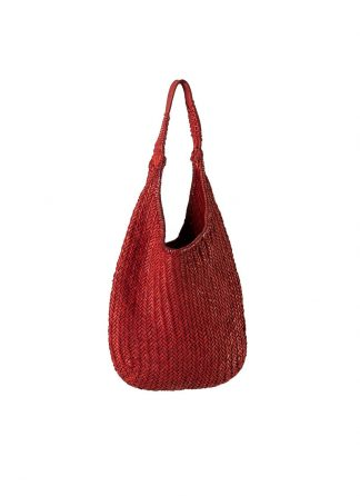 GUIDI AN5 woven bag tasche handtasche calf leather red hide m 2
