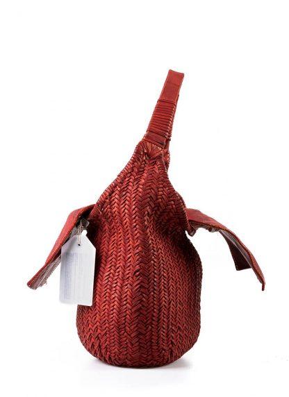 GUIDI AN5 woven bag tasche handtasche calf leather red hide m 3