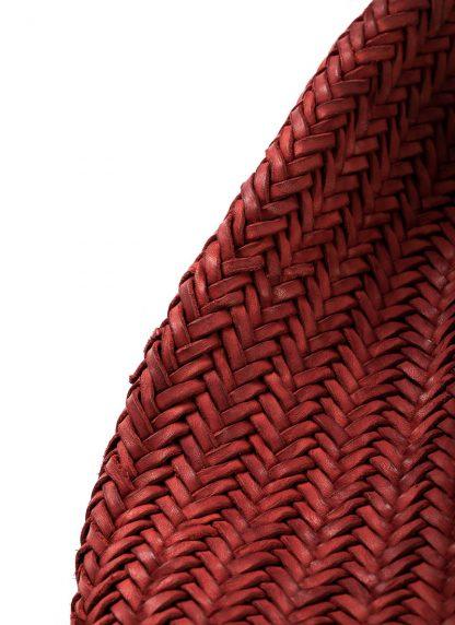 GUIDI AN5 woven bag tasche handtasche calf leather red hide m 5