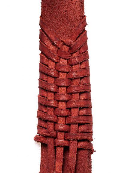 GUIDI AN5 woven bag tasche handtasche calf leather red hide m 6