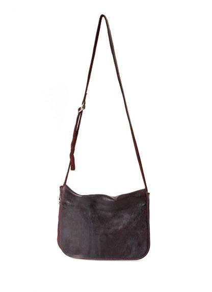 GUIDI B6 Messenger Bag Tasche soft horse leather CV23T dark burgundy hide m 2
