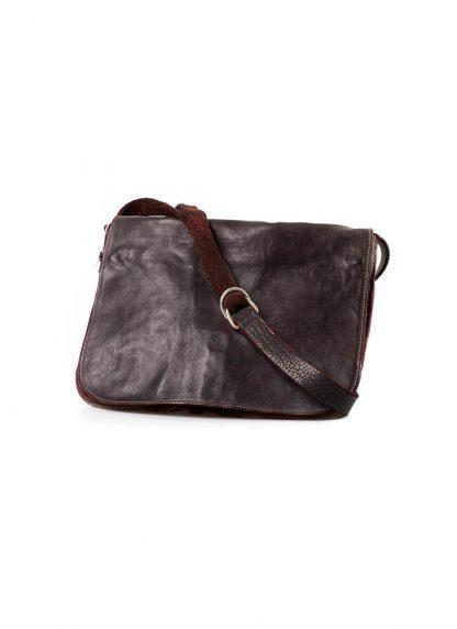GUIDI B6 Messenger Bag Tasche soft horse leather CV23T dark burgundy hide m 3