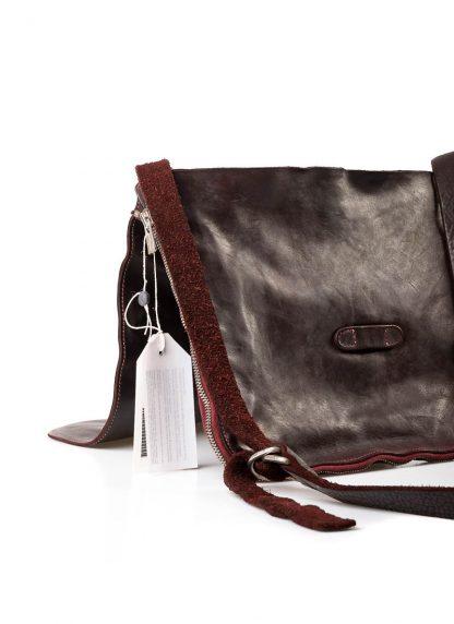 GUIDI B6 Messenger Bag Tasche soft horse leather CV23T dark burgundy hide m 4