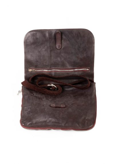 GUIDI B6 Messenger Bag Tasche soft horse leather CV23T dark burgundy hide m 5
