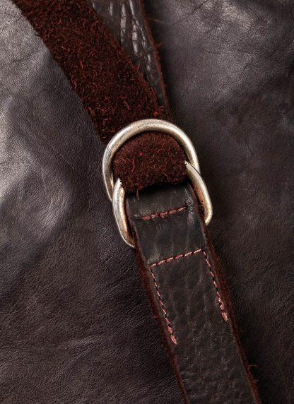 GUIDI B6 Messenger Bag Tasche soft horse leather CV23T dark burgundy hide m 6