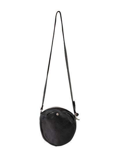 GUIDI CRB00 shoulder bag tasche horse leather CV39T black hide m 2