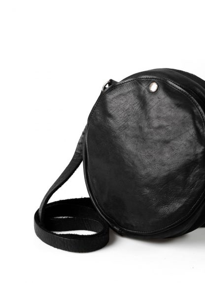 GUIDI CRB00 shoulder bag tasche horse leather CV39T black hide m 3