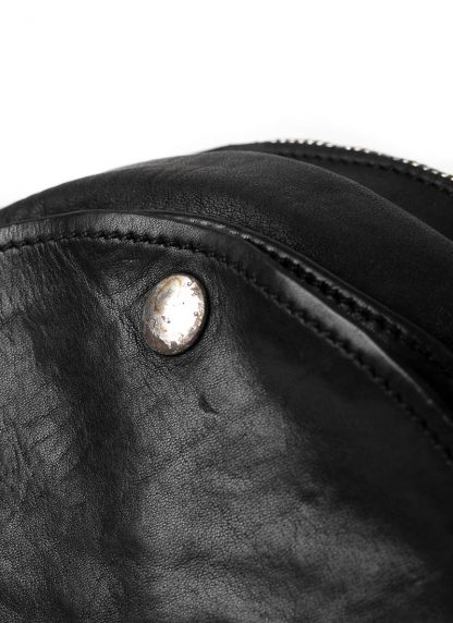GUIDI CRB00 shoulder bag tasche horse leather CV39T black hide m 5