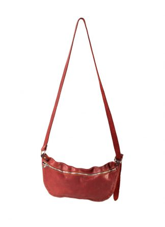 GUIDI Q10 small shoulder bag tasche horse leather 1006T red hide m 2