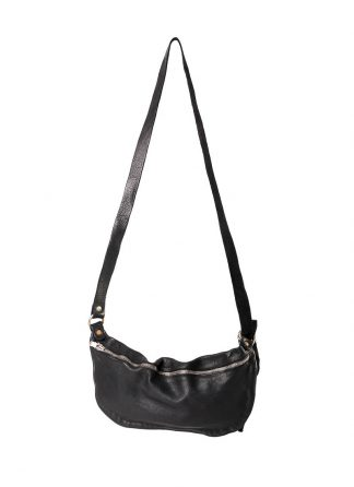 GUIDI Q10 small shoulder bag tasche horse leather black hide m 2