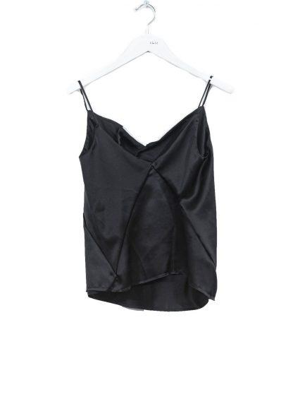 LEON EMANUEL BLANCK DIS W ST 01 S90 Women Distortion String Top Negligee Damen Frauen silk black hide m 2