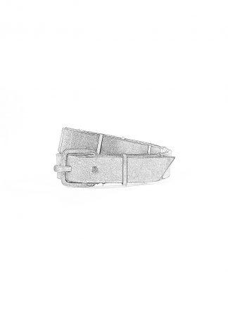 M.A macross Maurizio Amadei A F4B2 Wristband Bracelet Armband silver cow leather black hide m 1