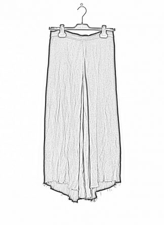 MA MACROSS MAURIZIO AMADEI Women Flowing Legs Wide Pants PW480 LHER1 damen frauen hose linen black hide m 1