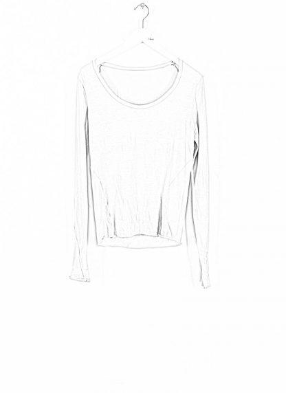 MA MAURIZIO AMADEI TW260D JKL1 women low neck medium fit long sleeve tshirt damen frauen cotton cashmere grey hide m 1