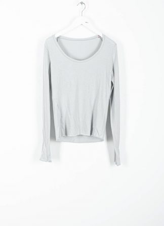 MA MAURIZIO AMADEI TW260D JKL1 women low neck medium fit long sleeve tshirt damen frauen cotton cashmere grey hide m 2