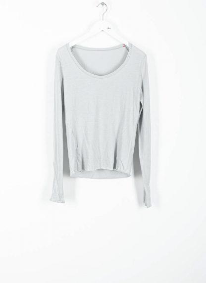 MA MAURIZIO AMADEI TW260D JKL1 women low neck medium fit long sleeve tshirt damen frauen cotton cashmere grey hide m 2