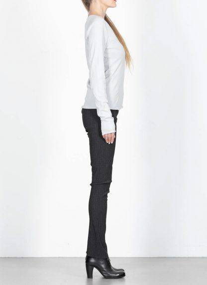 MA MAURIZIO AMADEI TW260D JKL1 women low neck medium fit long sleeve tshirt damen frauen cotton cashmere grey hide m 4