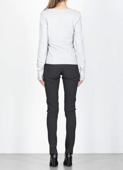 MA MAURIZIO AMADEI TW260D JKL1 women low neck medium fit long sleeve tshirt damen frauen cotton cashmere grey hide m 5