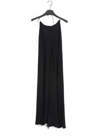 MA Macross Maurizio Amadei D22AL VIS5 Women Sleeveless Bare Back Pants Long Dress viscose black hide m 2