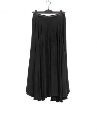 MA Macross Maurizio Amadei K600 CUFL Women Long Wheel Skirt Damen Rock Cupro Black hide m 2