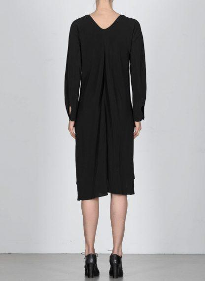 MA Macross Maurizio Amadei Women HW330L VIS5 Oversize V Neck Extra Long Shirt Damen Hemd viscose black hide m 5