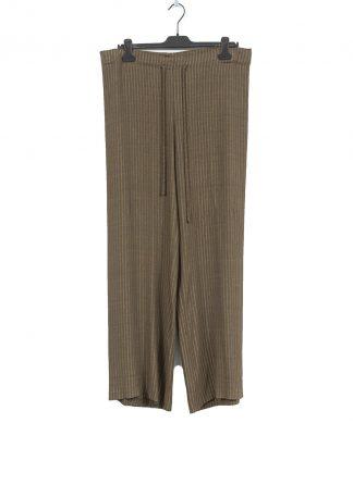 MA Macross Maurizio Amadei women PW444 VSTR Wide Outer String Pants Damen Hose viscose gold brown hide m 2