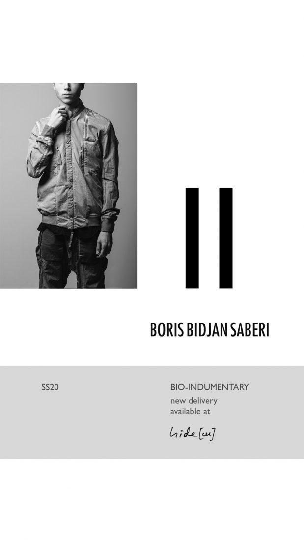 SS20 editorial Taichi Murakami Boris Bidjan Saberi hide m 23