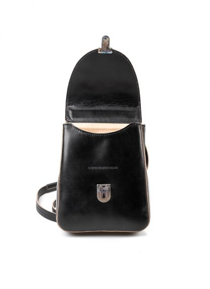 CHEREVICHKIOTVICHKI women 46AW18 tiny lock bag with long strap damen tasche horse leather black hide m 4
