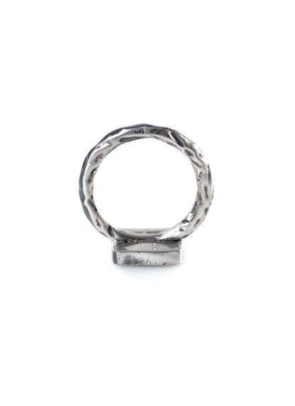 GUIDI women G AN02DN Ring black diamonds black leather 925 sterling silver hide m 2