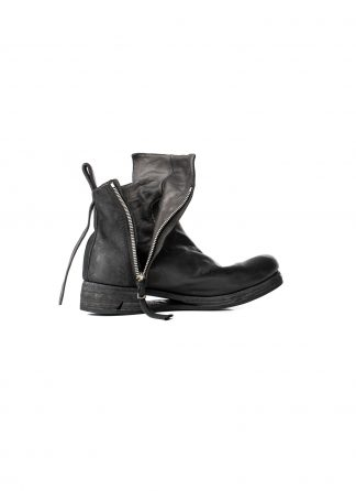 BORIS BIDJAN SABERI BBS BOOT1 Schuh Stiefel Zip Boot F2519M horse leather black hide m 2