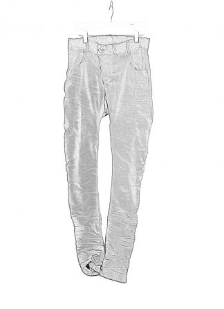 BORIS BIDJAN SABERI BBS Pants Herren Hose Jeans P13TF F1939 cotton ly faded synth blue hide m 1