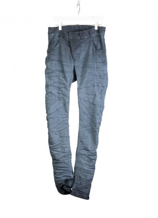BORIS BIDJAN SABERI BBS Pants Herren Hose Jeans P13TF F1939 cotton ly faded synth blue hide m 2