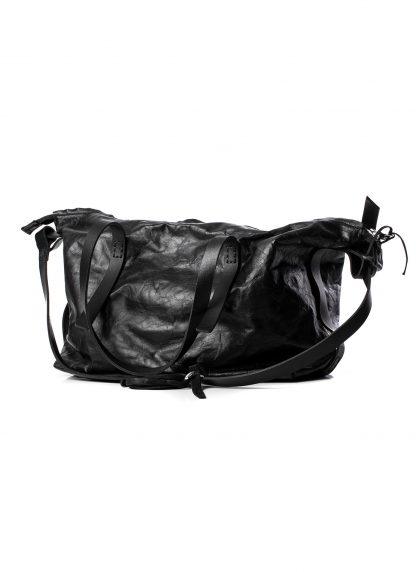 BORIS BIDJAN SABERI BBS exclusively bag48 weekender tasche calf leather alluminium f260 black hide m 3
