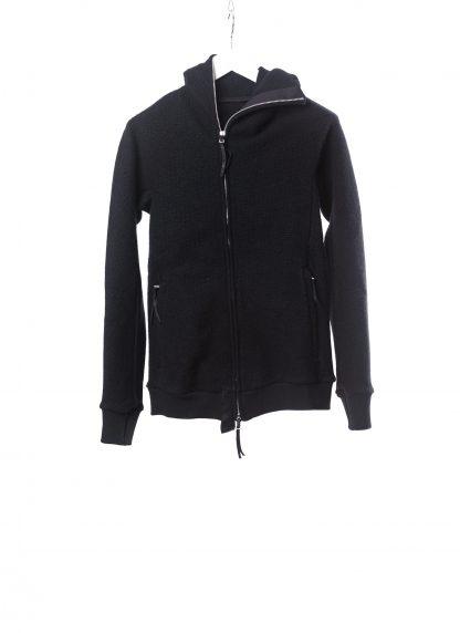 BORIS BIDJAN SABERI ZIPPER2 fw20 men jacket herren jacke F0409M vergin wool cotton cashmere black hide m 2