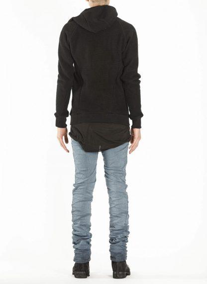 BORIS BIDJAN SABERI ZIPPER2 fw20 men jacket herren jacke F0409M vergin wool cotton cashmere black hide m 6