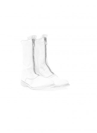 GUIDI 310 women front zip boot damen stiefel soft horse full grain leather CO00T white hide m 1