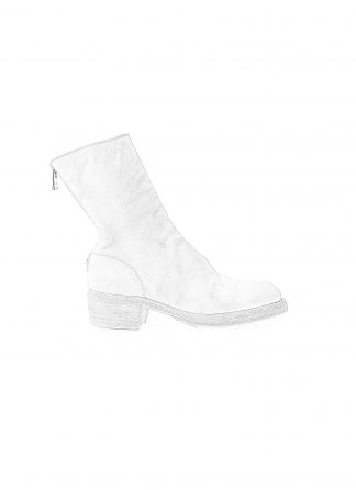 GUIDI 788z women back zip boot damen stiefel soft horse full grain leather CO00T white hide m 1