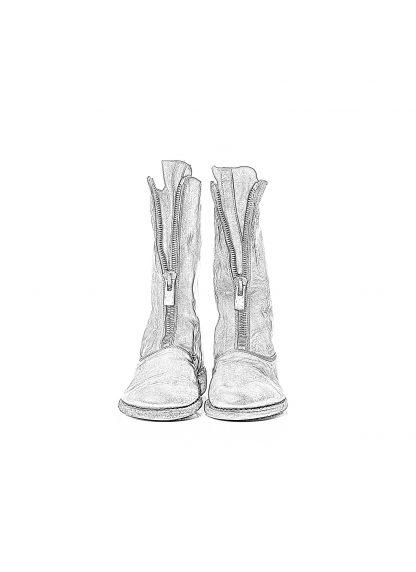 GUIDI Women 310 front zip boot shoe damen schuh stiefel soft horse leather black hide m 1