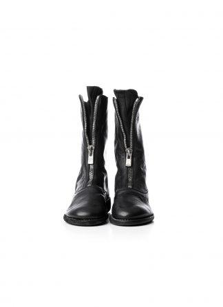 GUIDI Women 310 front zip boot shoe damen schuh stiefel soft horse leather black hide m 2