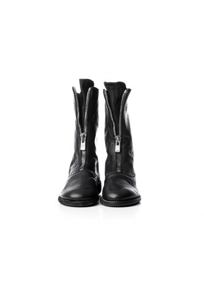 GUIDI Women 310 front zip boot shoe damen schuh stiefel soft horse leather black hide m 2