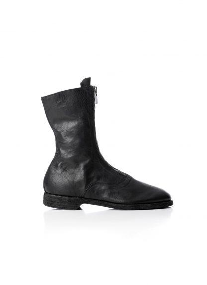 GUIDI Women 310 front zip boot shoe damen schuh stiefel soft horse leather black hide m 3