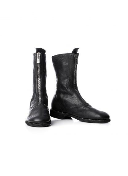 GUIDI Women 310 front zip boot shoe damen schuh stiefel soft horse leather black hide m 4