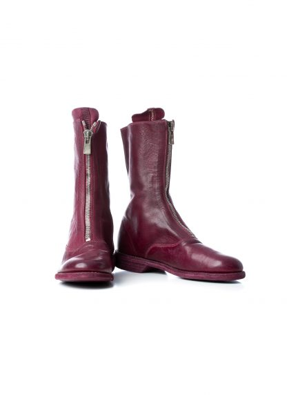GUIDI Women 310 front zip boot shoe damen schuh stiefel soft horse leather raspberry hide m 2