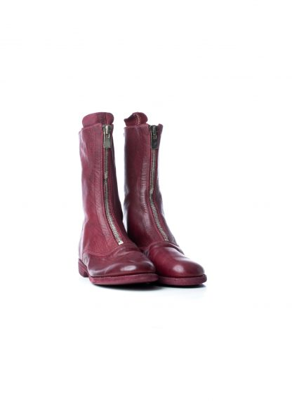 GUIDI Women 310 front zip boot shoe damen schuh stiefel soft horse leather raspberry hide m 4