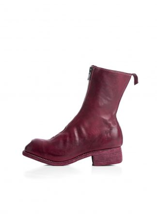 GUIDI Women PL2 front zip boot shoe damen schuh stiefel soft horse full grain leather raspberry hide m 2