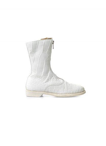 Guidi women front zip army boot damen schuh stiefel 310 crocodile leather white CO00T hide m 2